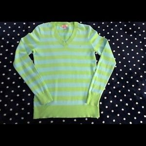 Lilly Pulitzer striped pullover sweater size S